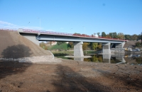 Reconstruction of bridge over river Mūsa in Bauska