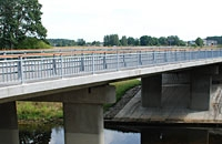 Bridge over Ziemeļsusēja river