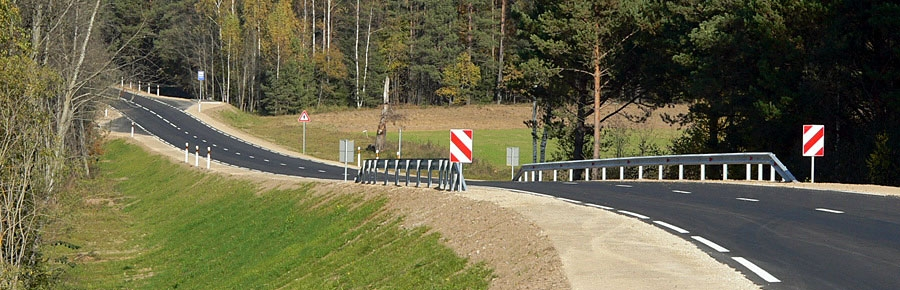 Reconstruction of the road P69